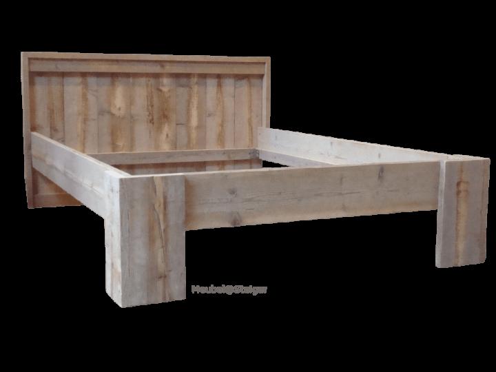 meubelsteiger blokpoot bed-