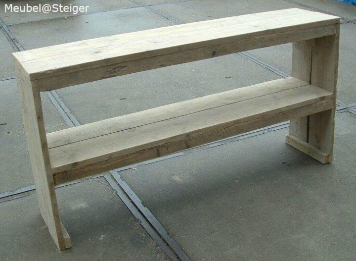 steigerhout sidetable 3